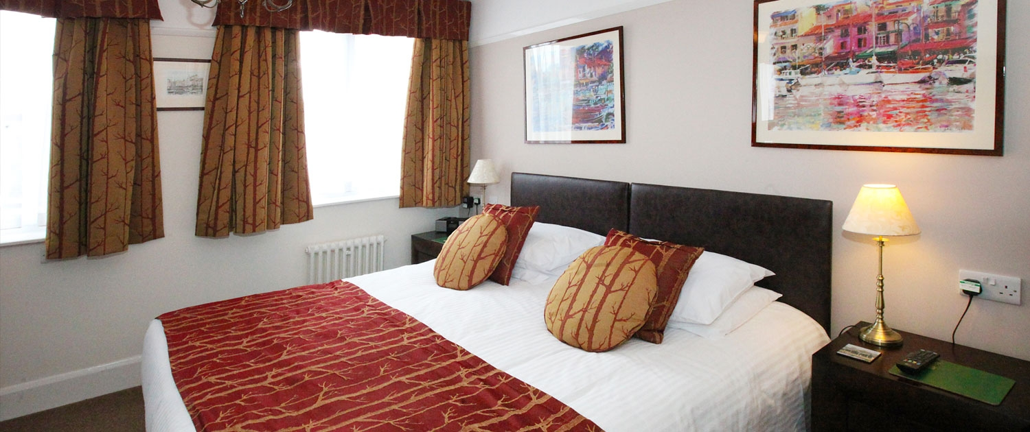 Bedrooms, Rooms, Accommodation, The Robin Hill Hotel, Torquay, Devon