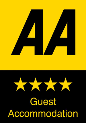 AA 4-Star Guest Accommodation, Robin Hill Hotel, Torquay, Devon